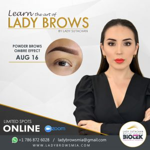 POWDER BROWS MASTER CLASS
